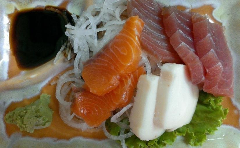 Cheap and Fresh Sashimi inTaiwan