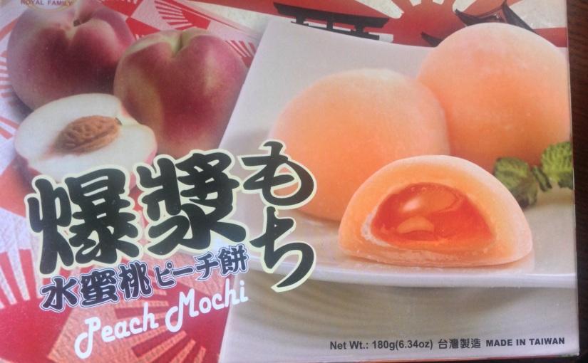 Mochi or môa-chî, 麻糬, inTaiwanese