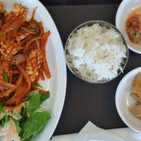 H Mart in Hartsdale NY -  Reliable Food Court Eating