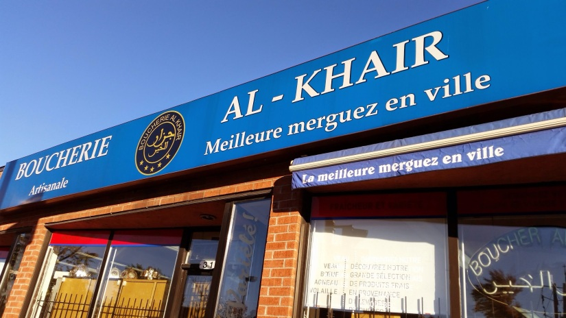 Boucherie Al-Khair in Montreal