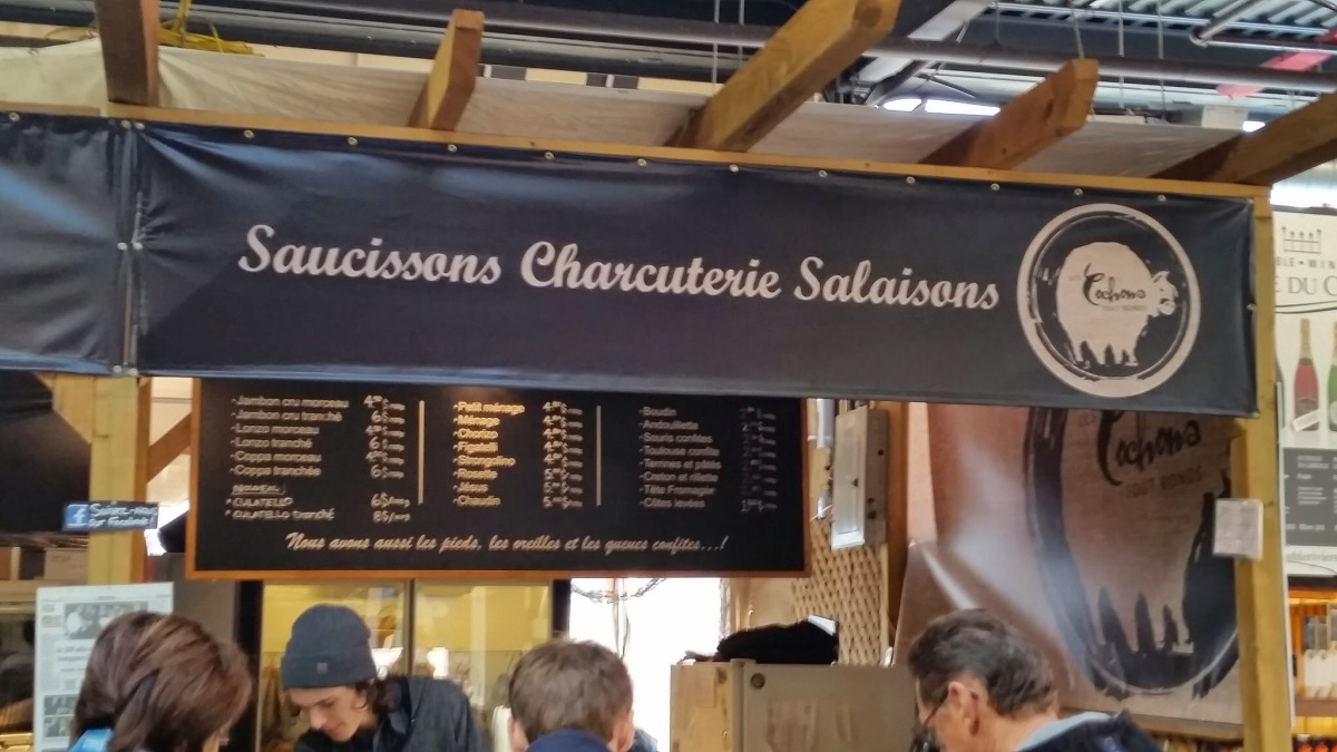 Saucisson sec, Dried Sausages, from Montreal
