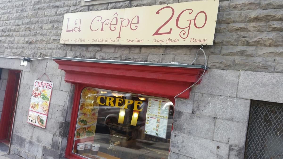 La Crêpe 2Go in Montreal, Canada - It's All in the Batter; La Crêpe 2Go à Monréal, au Canada- Tout est dans la pâte