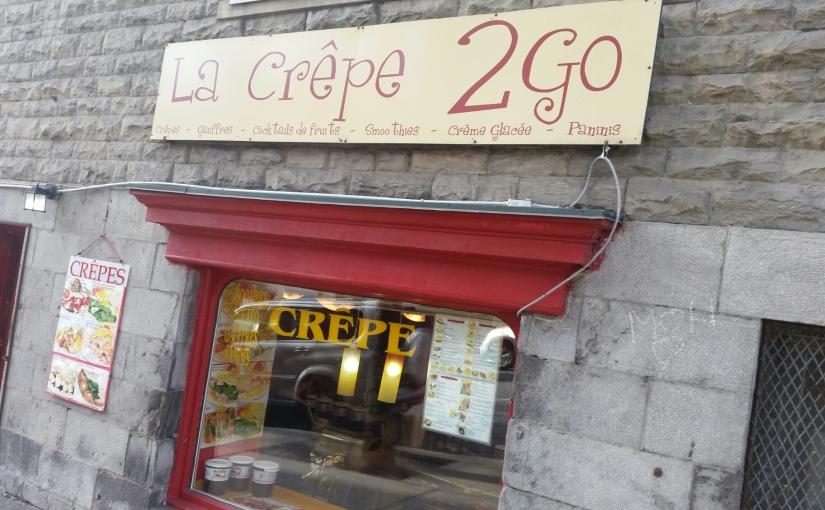 La Crepe 2 Go in Montreal, Canada