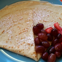Best Classic Crepe, Crepe Sucre, in Montreal