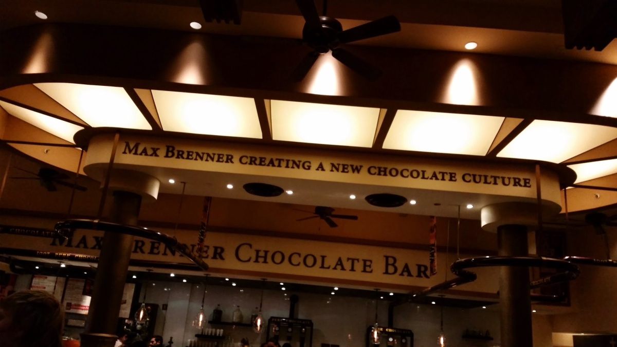 Max Brenner in NYC - Creating a New Chocolate Culture Worldwide and Happy New Year with Love!