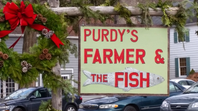 Purdy's Farmer and the Fish Restaurant