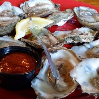 Wanderlust - Goombays Grille & Raw Bar in Kill Devil Hills, NC.  Solved My Small Appetite Problem.