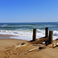 Wanderlust - Beaches of Kill Devil Hills and Nags Head, NC.Soft, Sinking Sand Makes Tough Beaches to run on.
